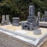 お墓の工事完成写真